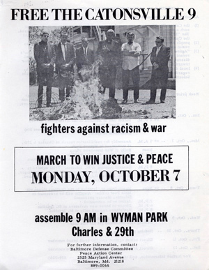 Free the Catonsville 9: fighters against racism & war