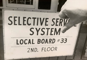 Selective Service System Local Board #33